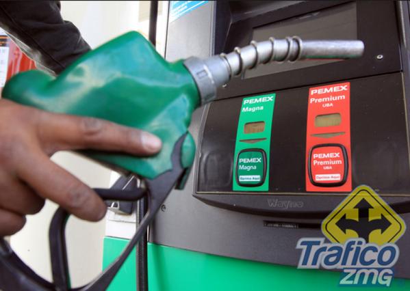 El motor para la recepción de la gasolina