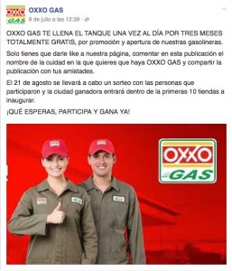 Oxxo Gas Fake
