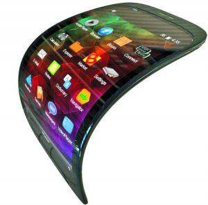 Se vienen los celulares flexibles