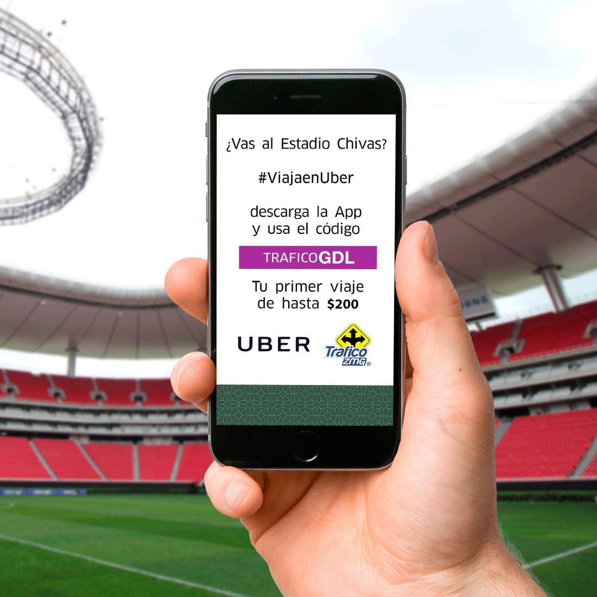 Uber Estadio Chivas