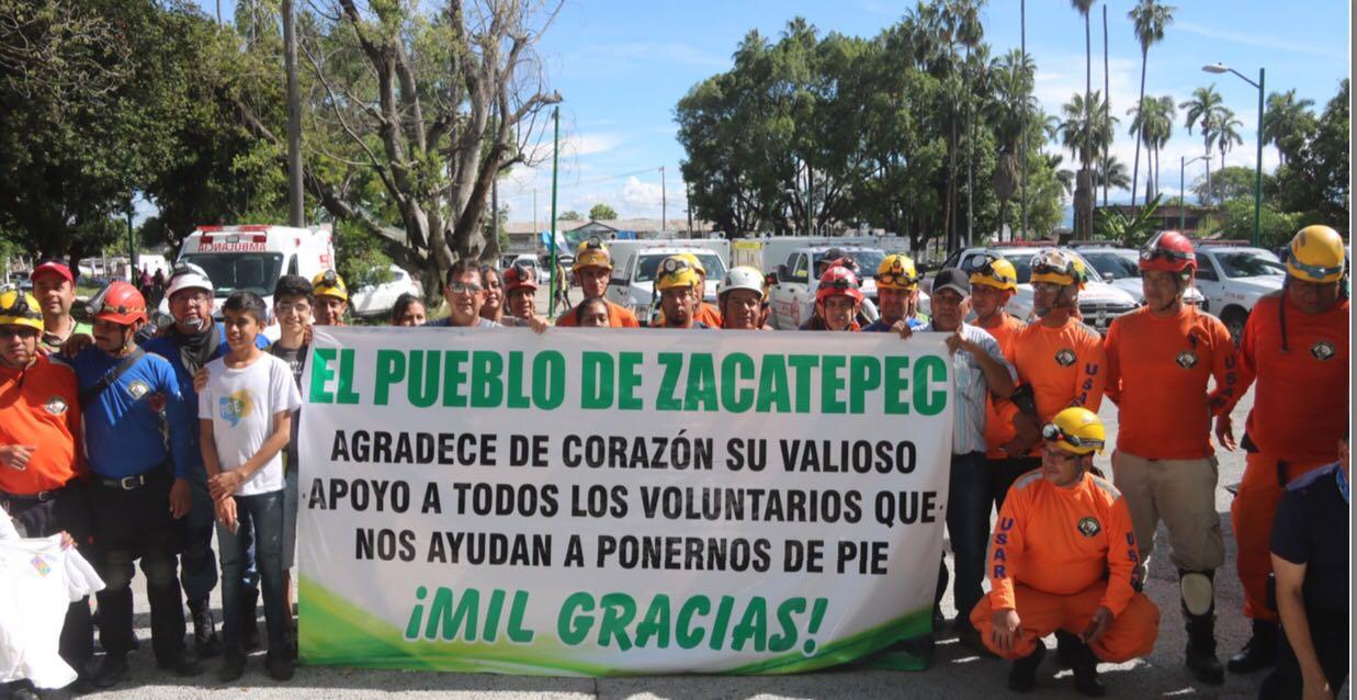 Regresan A Jalisco Bomberos Que Brindaron Apoyo En Morelos  # Muebles En Jojutla Morelos