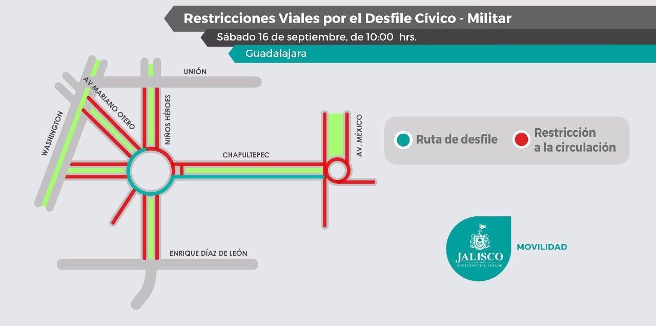 Avenida México estará cerrada en las inmediaciones de su cruce con  Chapultepec e8b3dbf68f6
