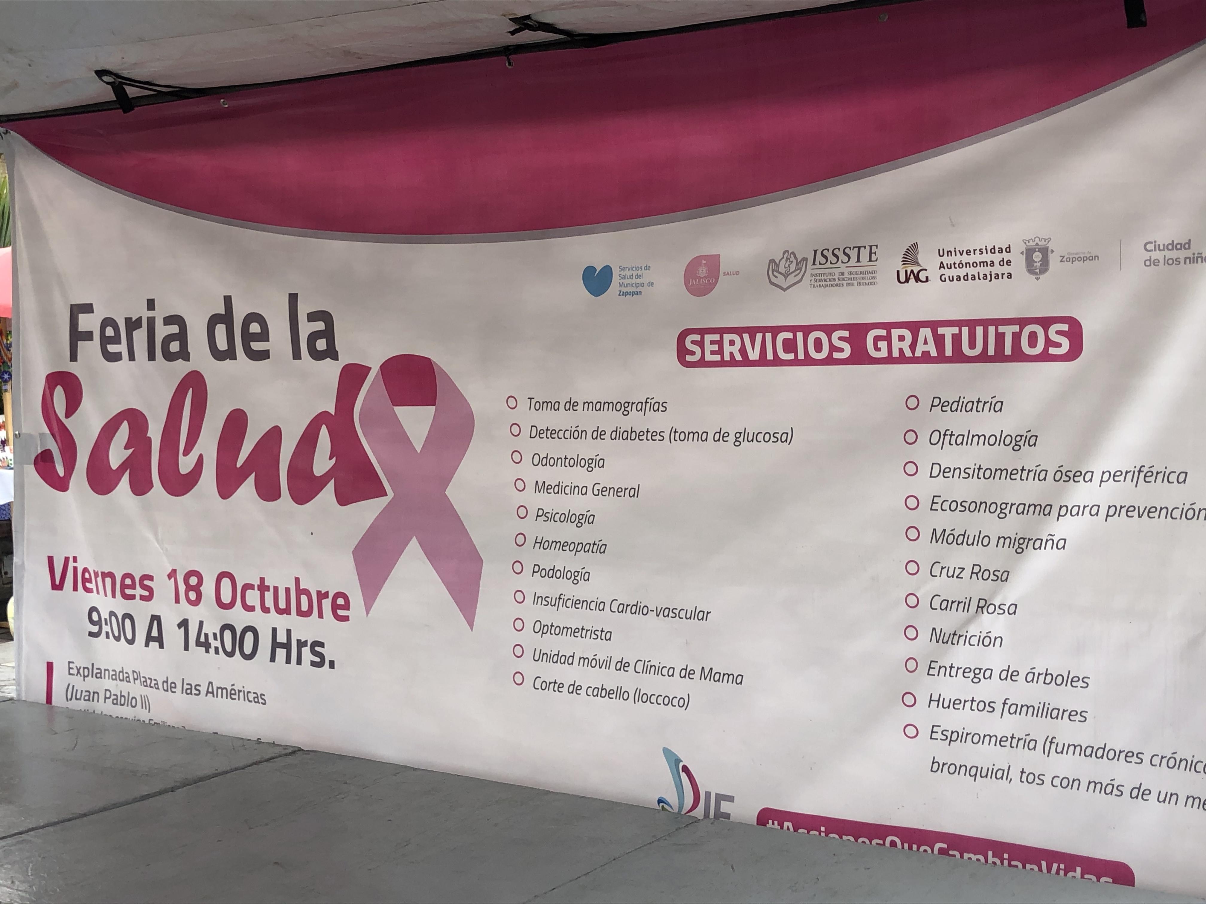 Realiza Zapopan Feria De La Salud Tráfico Zmg