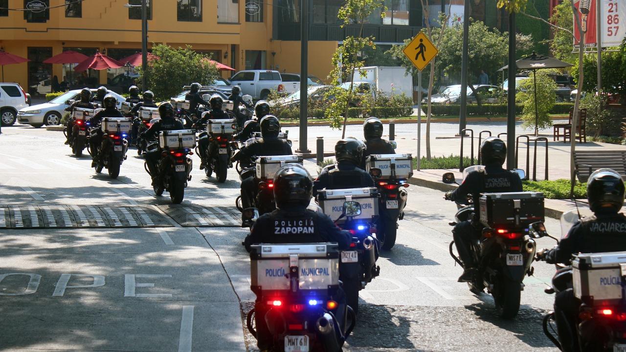 Inicia operativo contra motoladrones en Zapopan