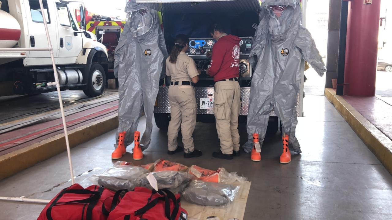 Zapopan equipa a personal de emergencias ante contingencia sanitaria