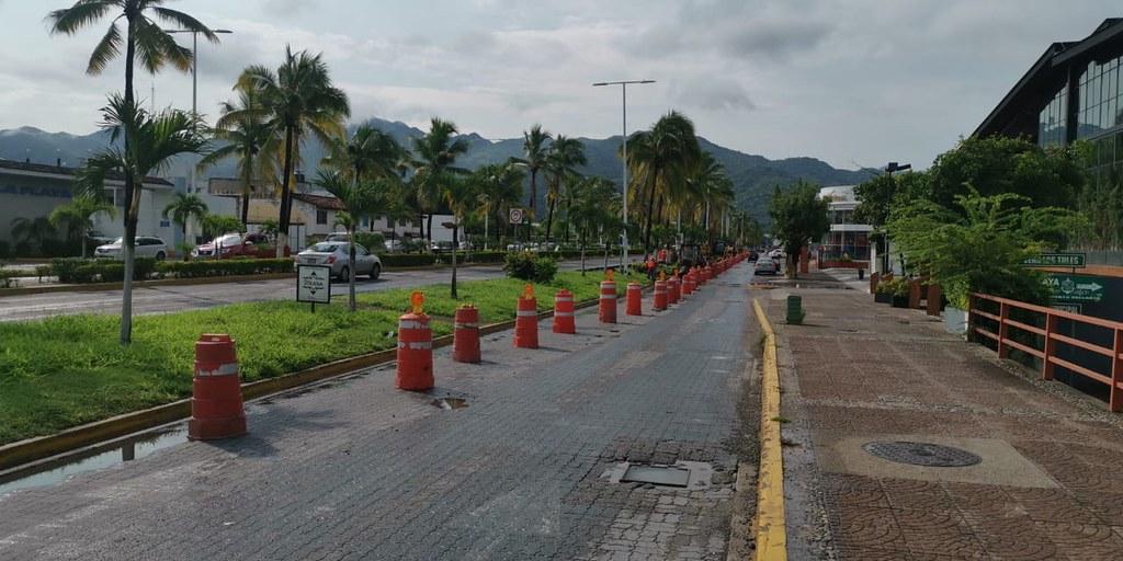 Con una inversión de 50 mdp, arrancan obras de boulevard de Puerto Vallarta