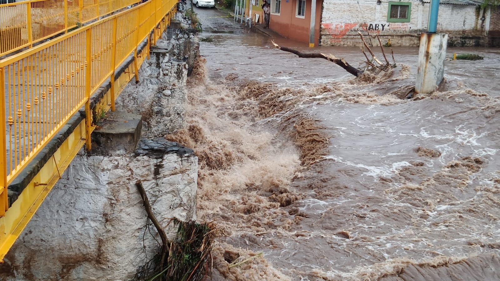 Inundación en Tizapán